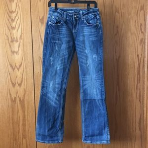 Cowgirl Tuff Hippie Jeans